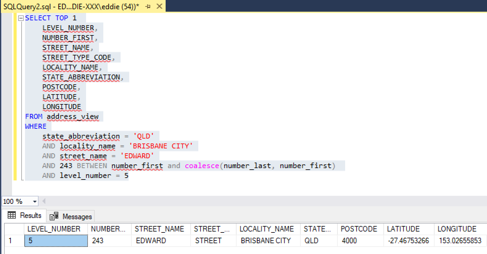geocoding-sql-query